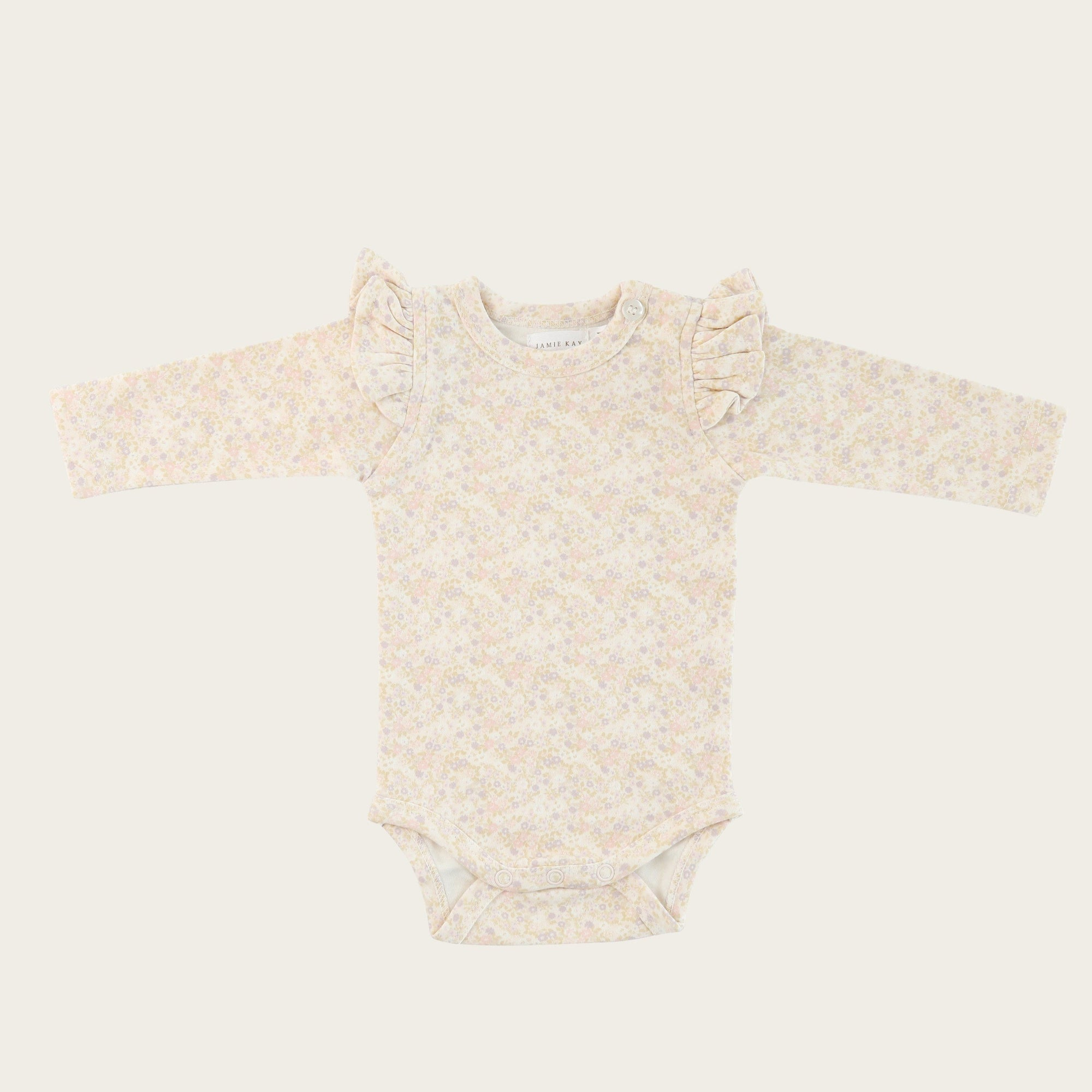 Forget Me Not Frill LS Bodysuit