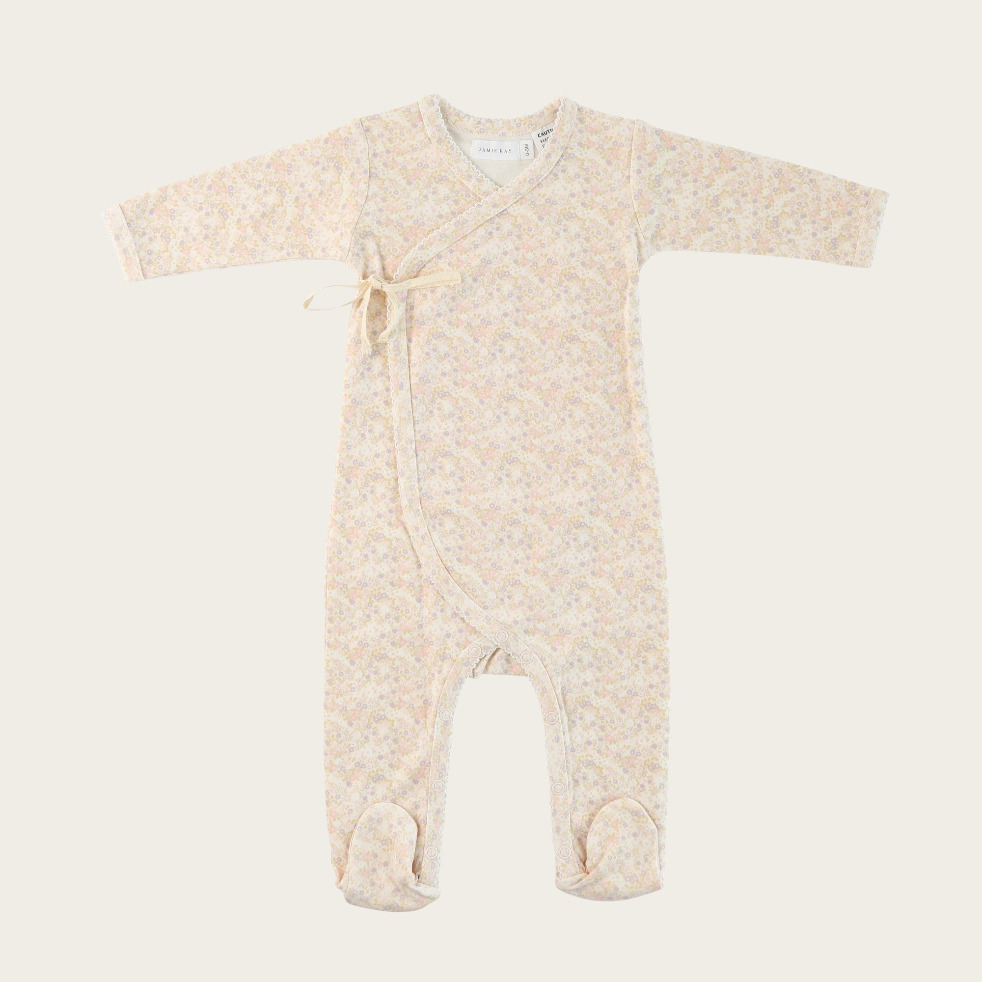 Forget Me Not Wrap Onesie