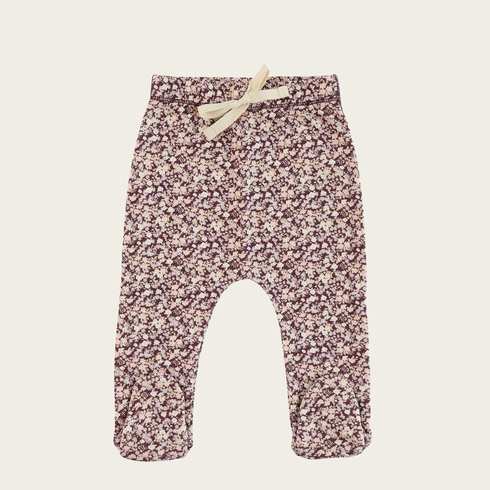 Lily of the Valley Footed Pant