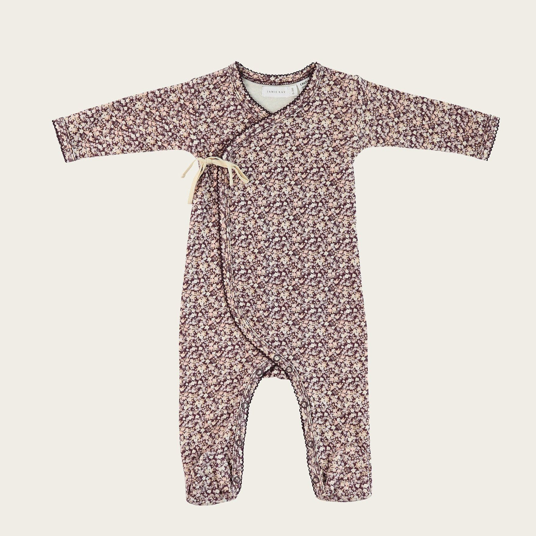 Lily of the Valley Wrap Onesie