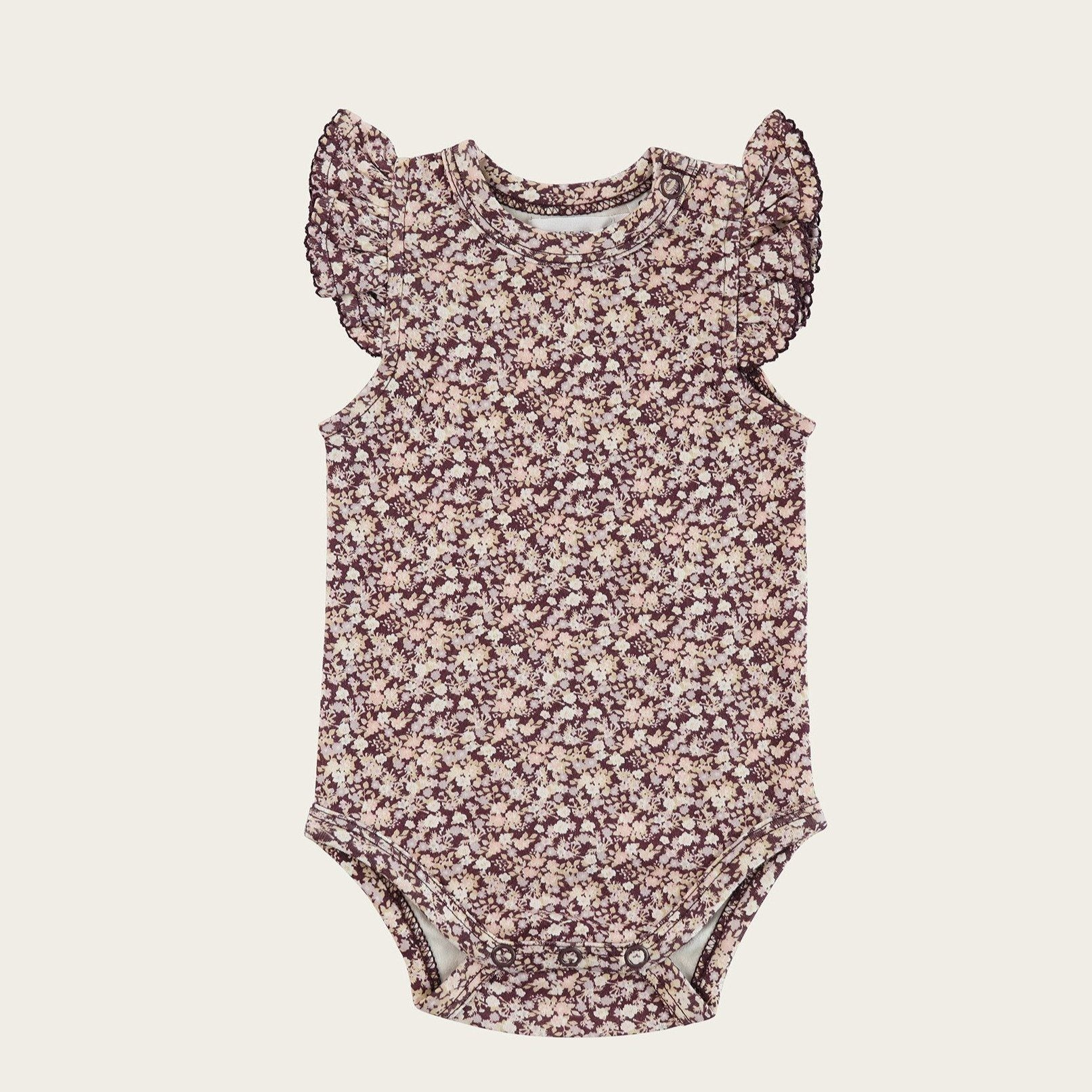 Lily of the Valley Frill Singlet Bodysuit