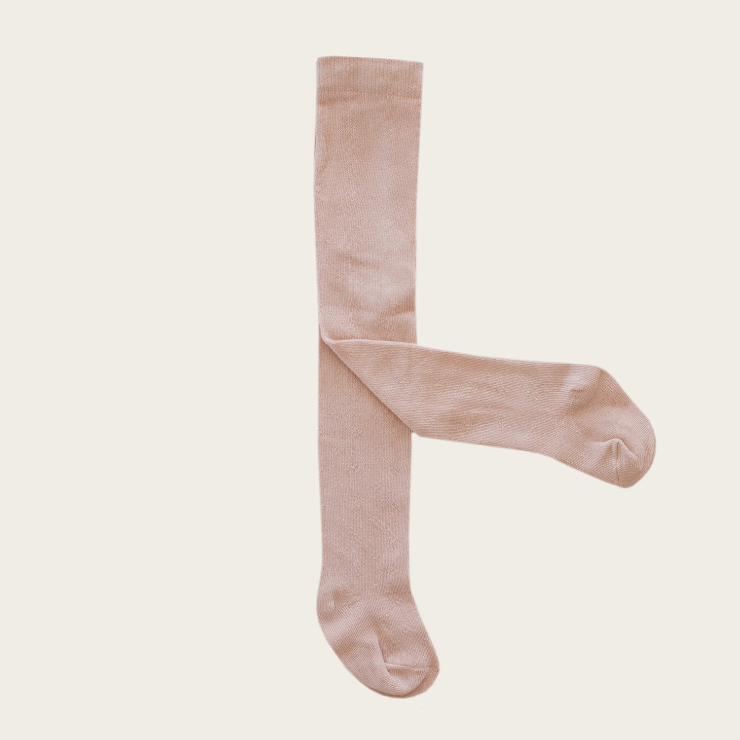Pointelle Tights (Rose Dust)