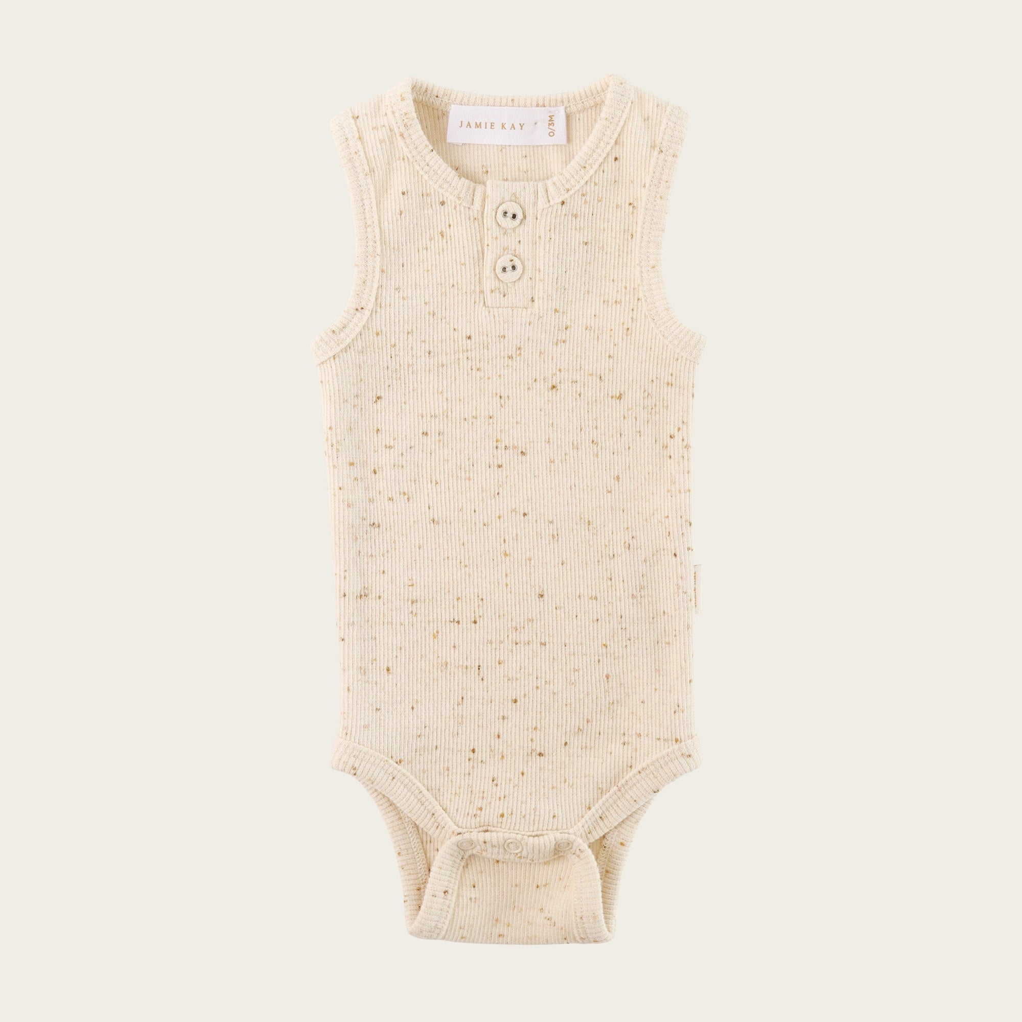 Honey Ribbed Singlet Bodysuit