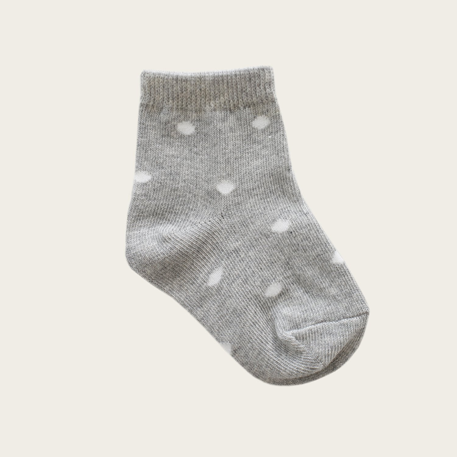 Dotty Socks (Light Grey Marle)