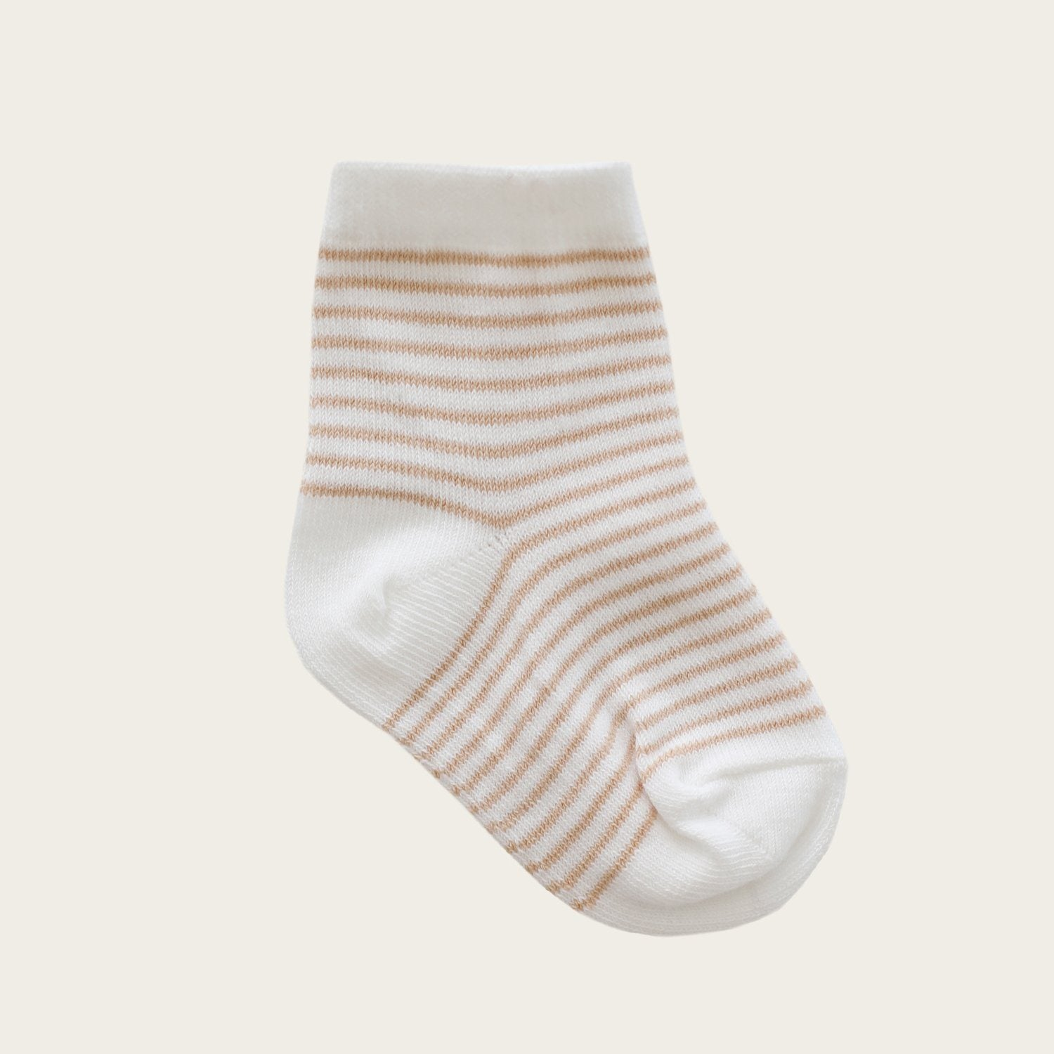 Stripe Socks (Sandy/Cloud)