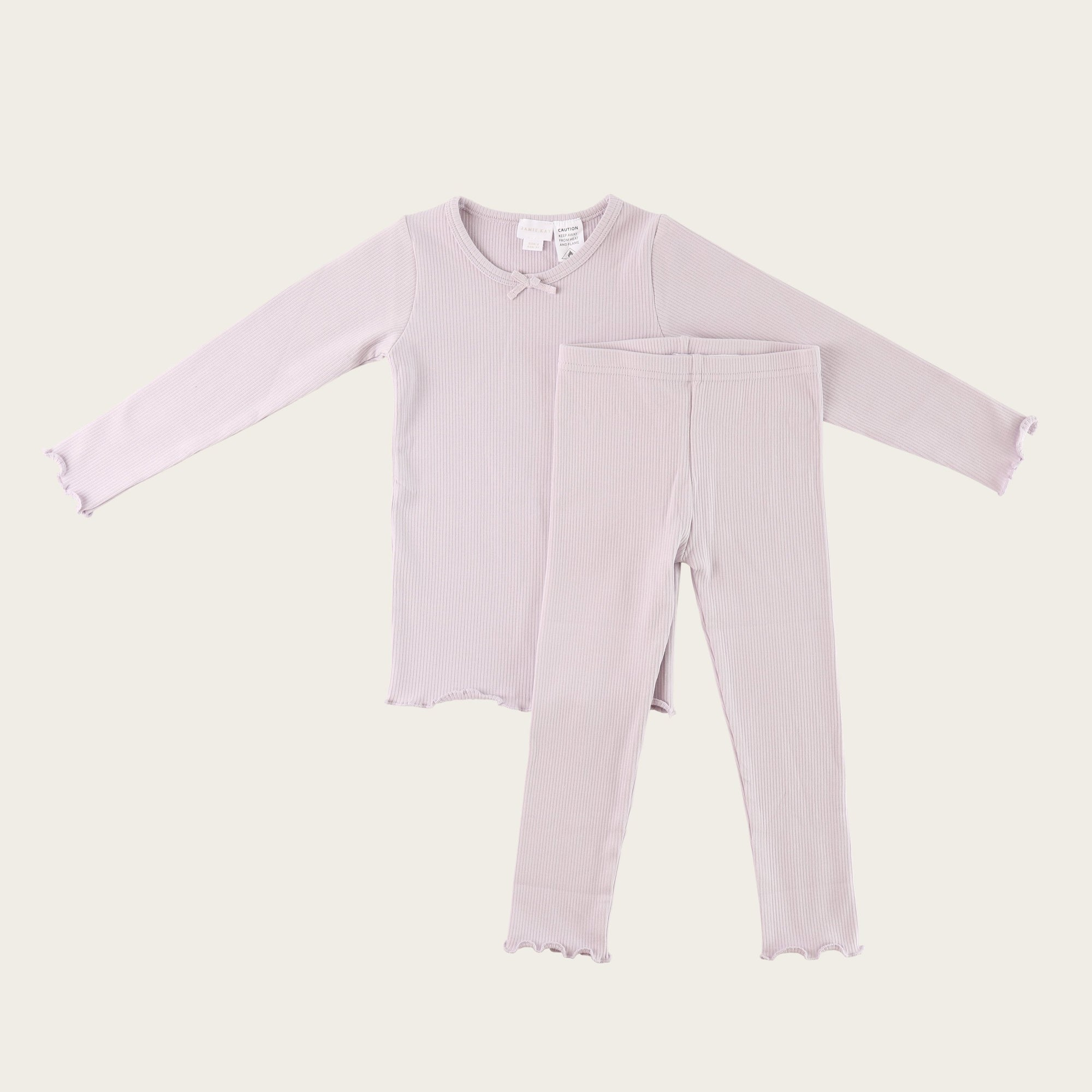 Soft Lilac Winter Pyjamas