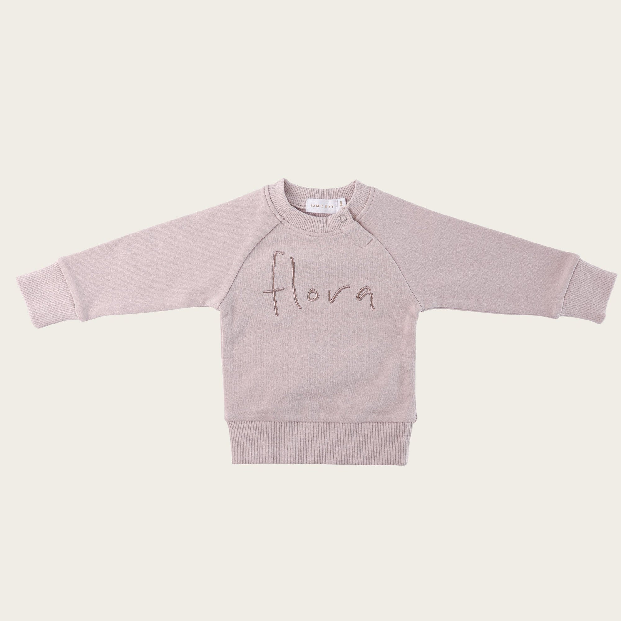 Flora Sweatshirt (Almost Mauve)