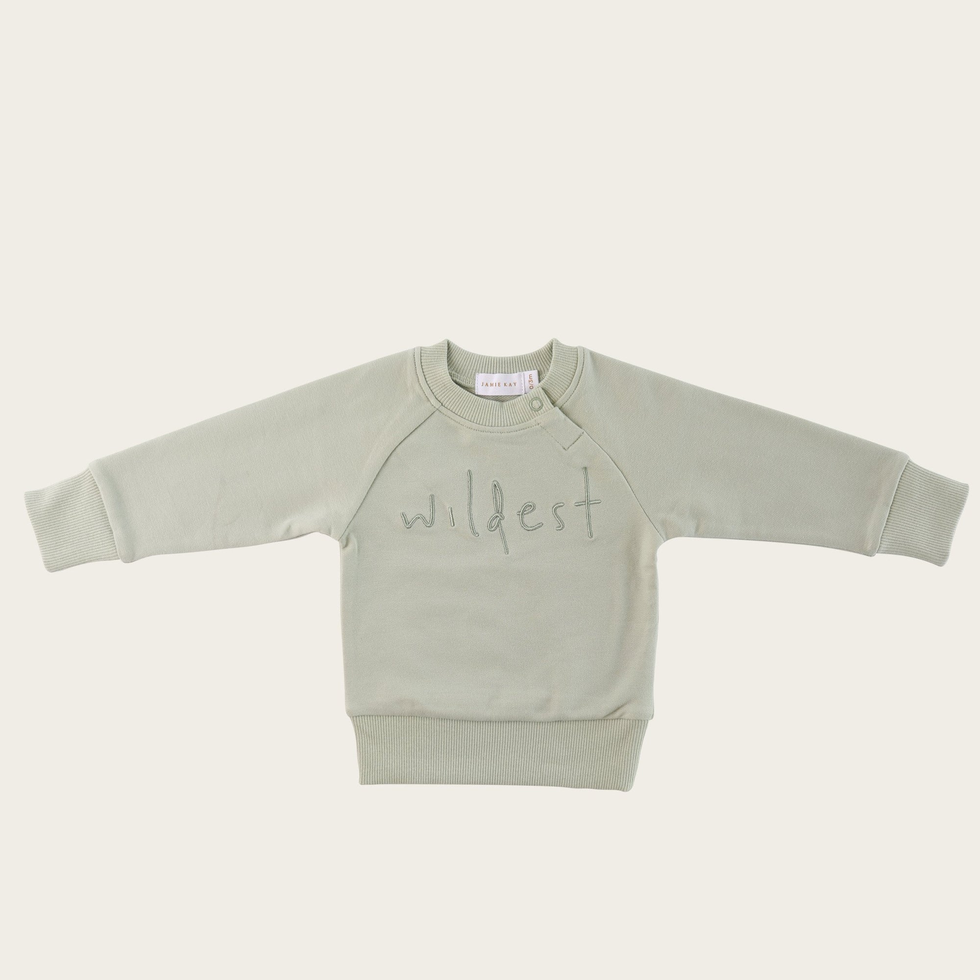 Wildest Sweatshirt (Aqua Grey)