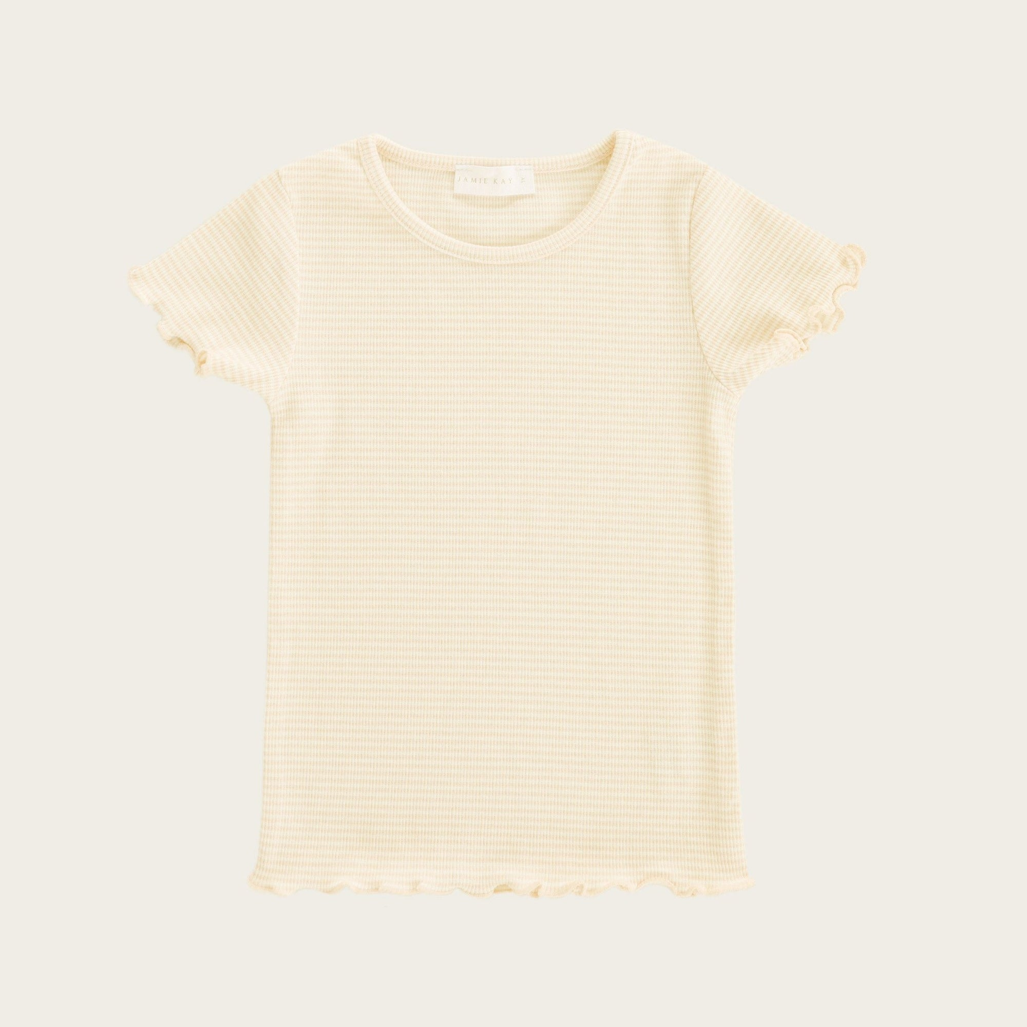 Lily Tee (Pear Stripe)