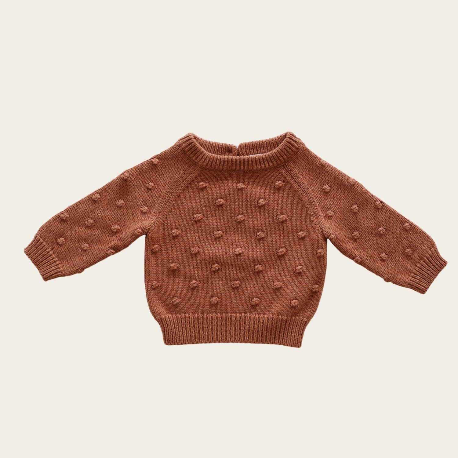 Dotty Knit (Copper Marle)