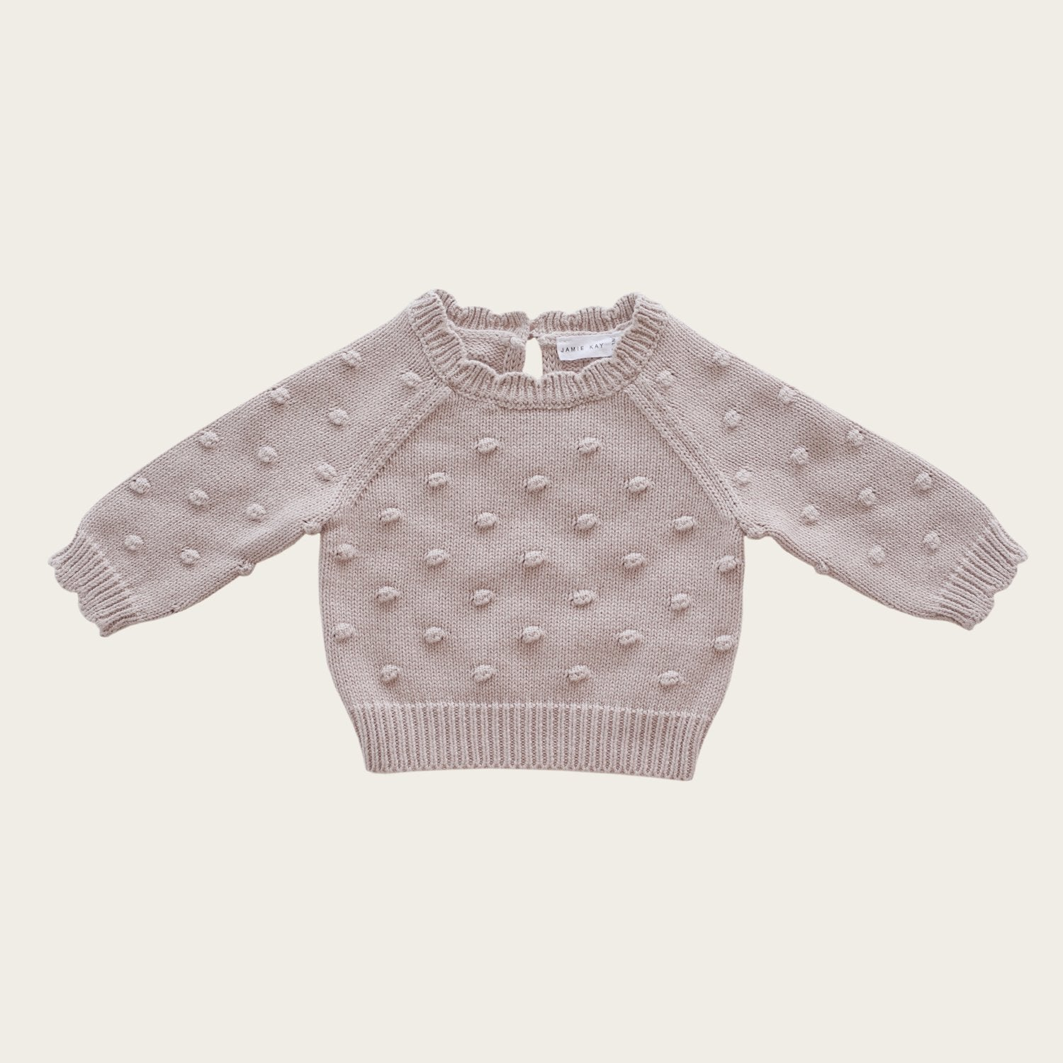 Dotty Knit (Rosebud)