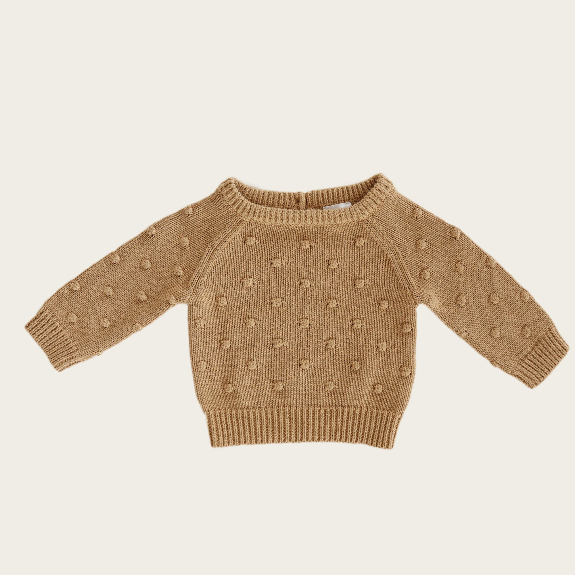 Dotty Knit (Latte)