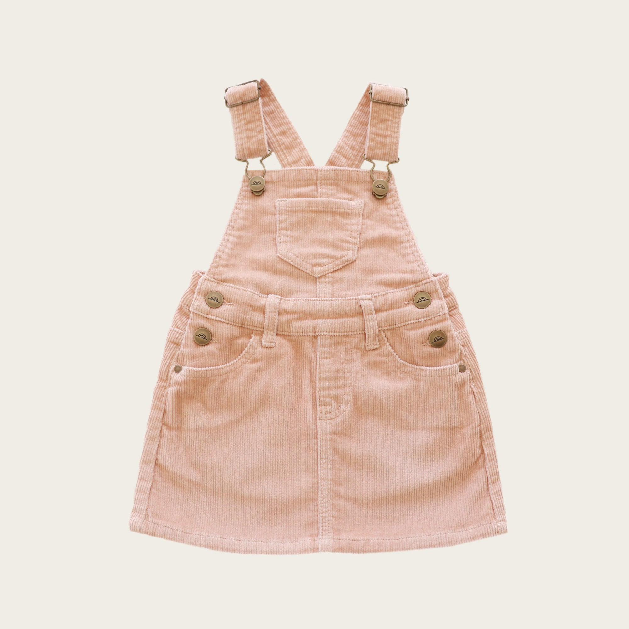 Cord Chloe Overall Dress (Angel)
