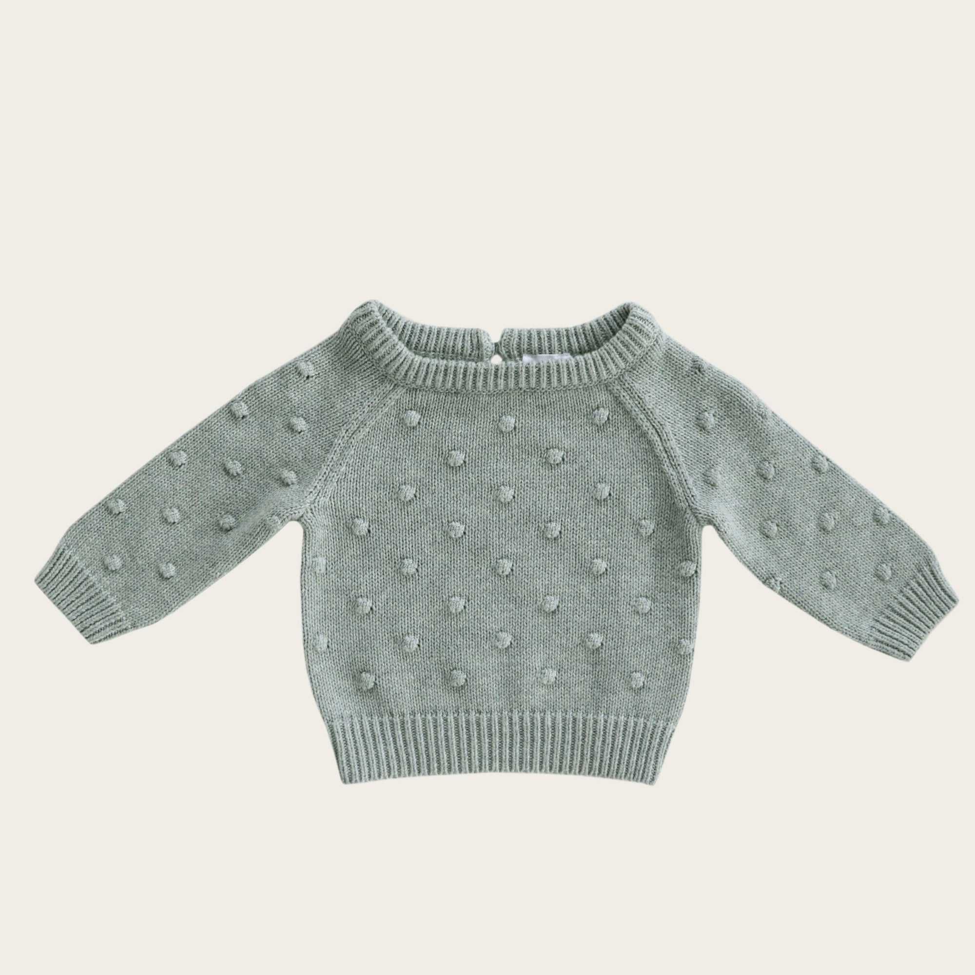 Dotty Knit (Mist Fleck)