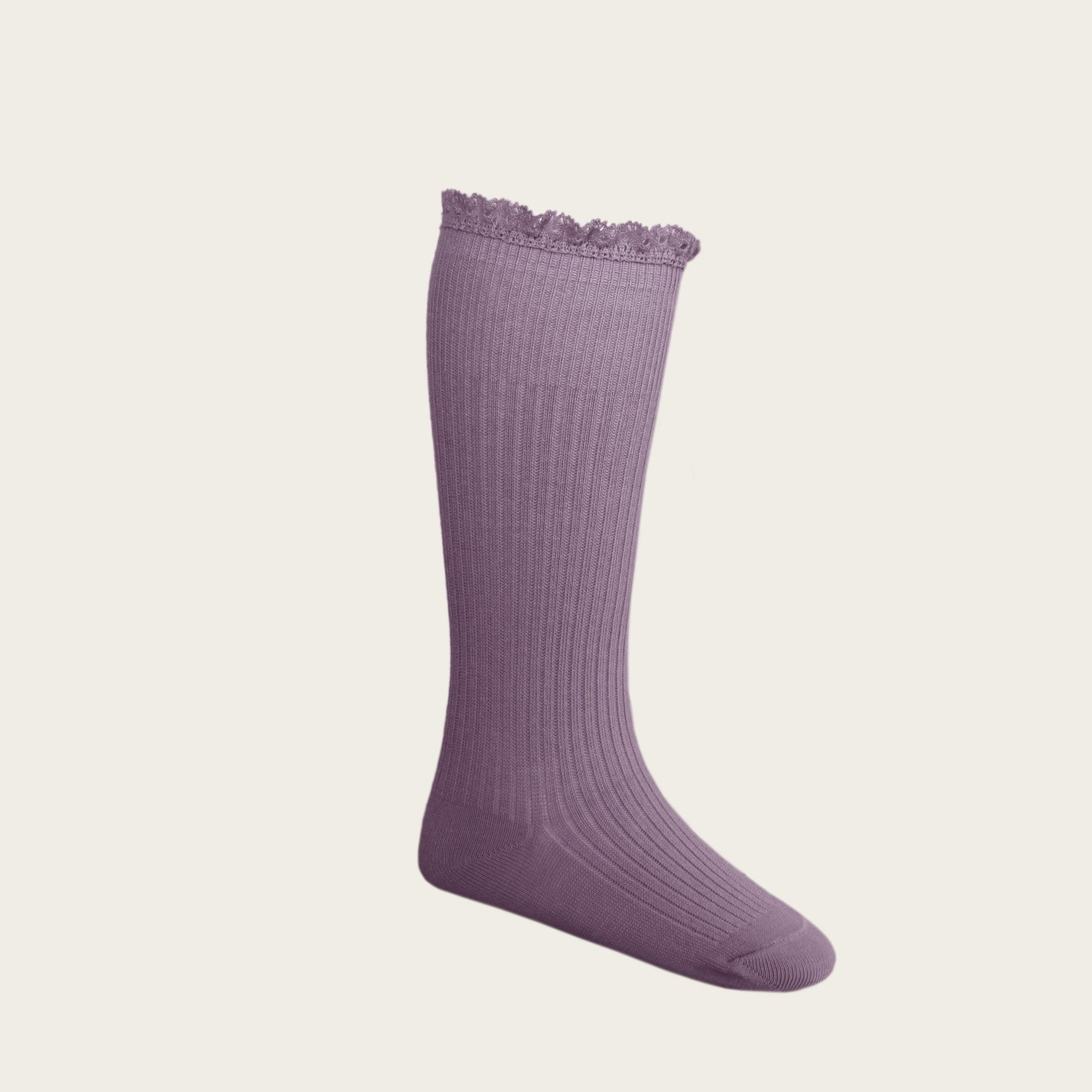 Frill Socks (Blueberry)