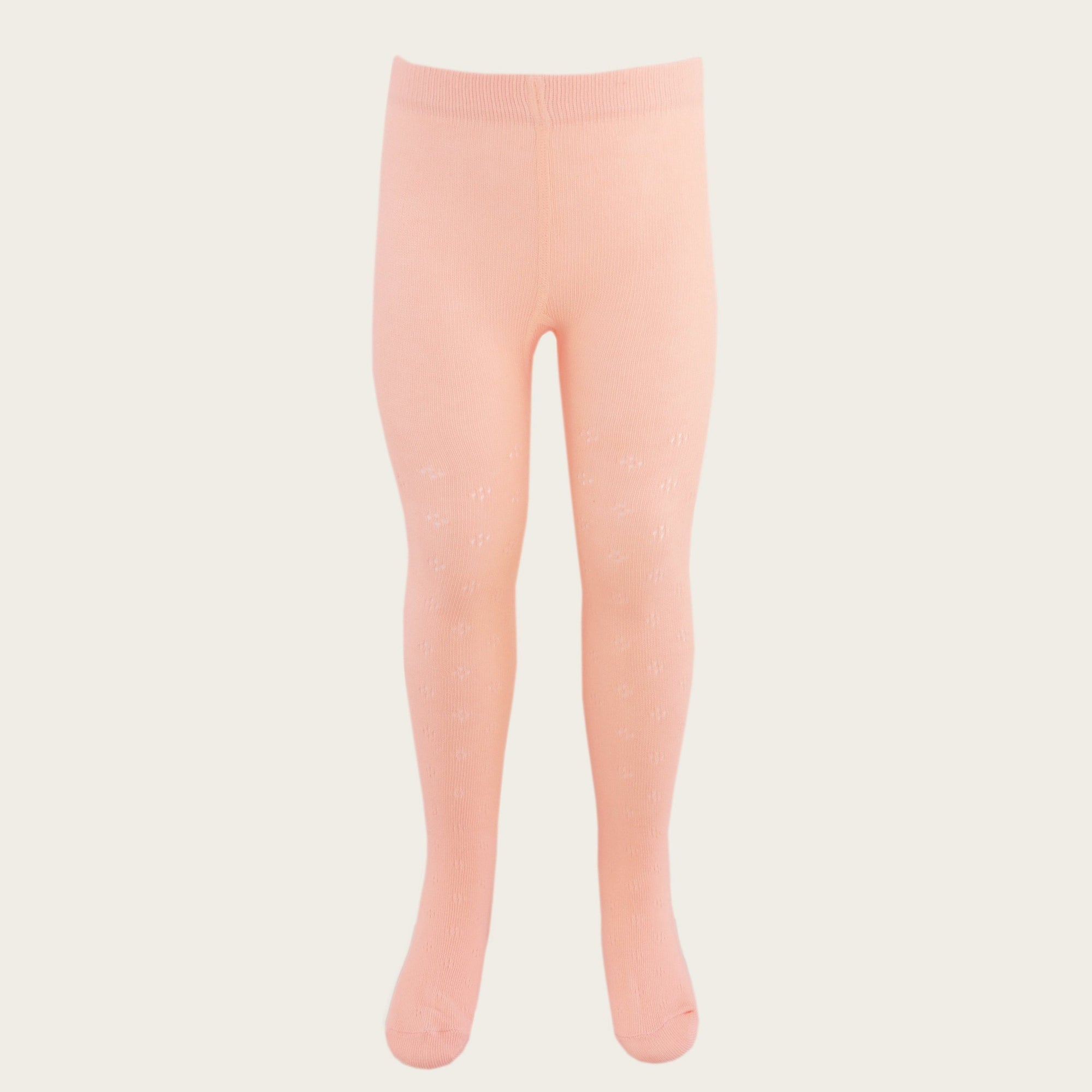 Pointelle Tights (Melon)