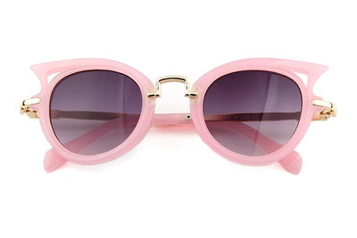 Miss Meow Sunglasses (Light Pink)