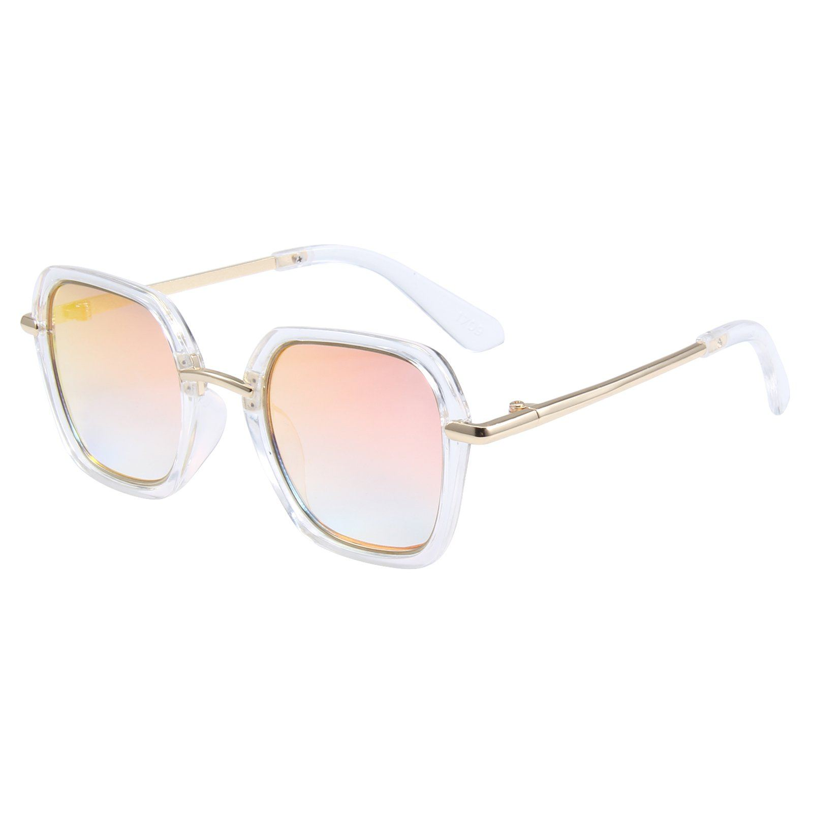 Elton Sunglasses (White)