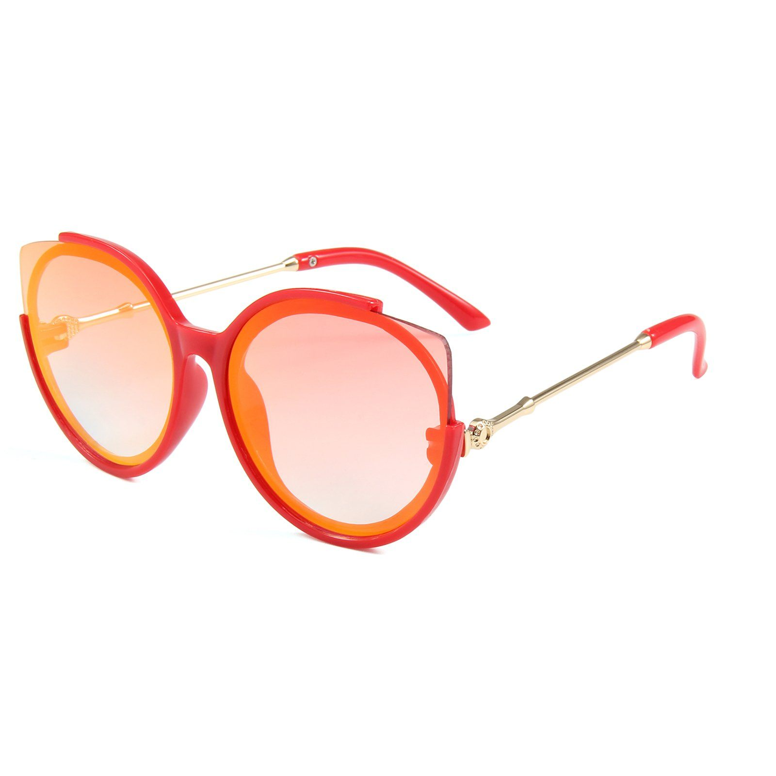 Kitty Sunglasses (Orange)