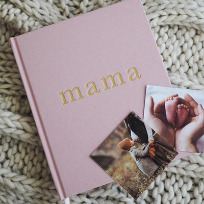Mama Journal - Tell Me About It (Pink)