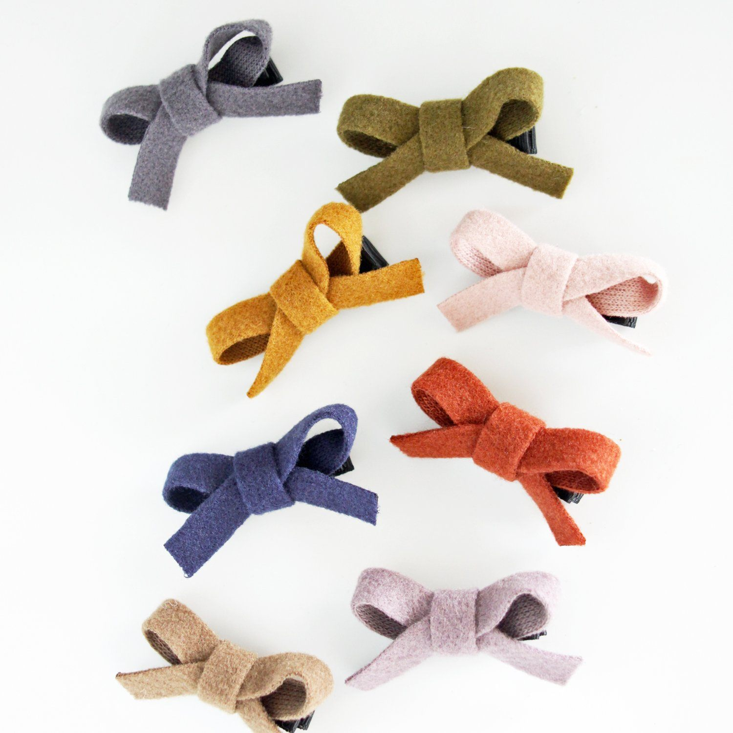Little Felt Bow Hair Clip