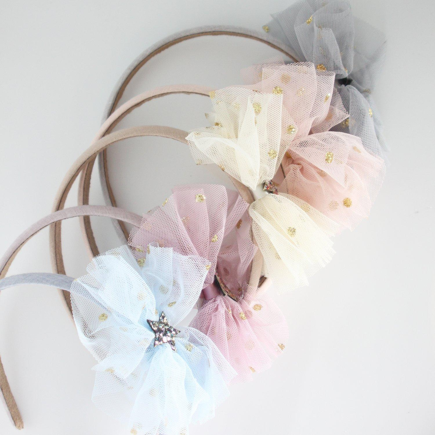 Star Dot Bow Headband