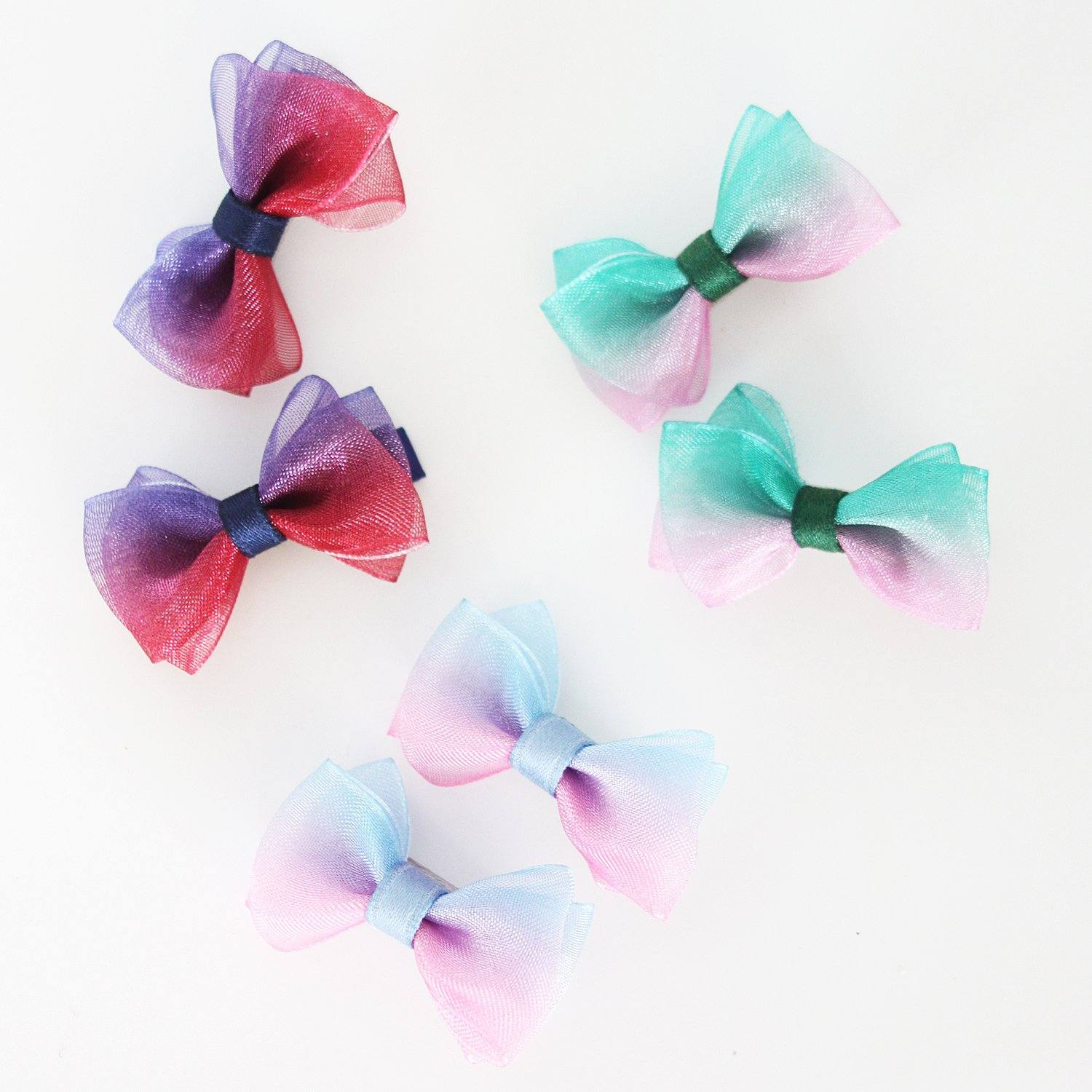 Chiffon Mini Bow Set