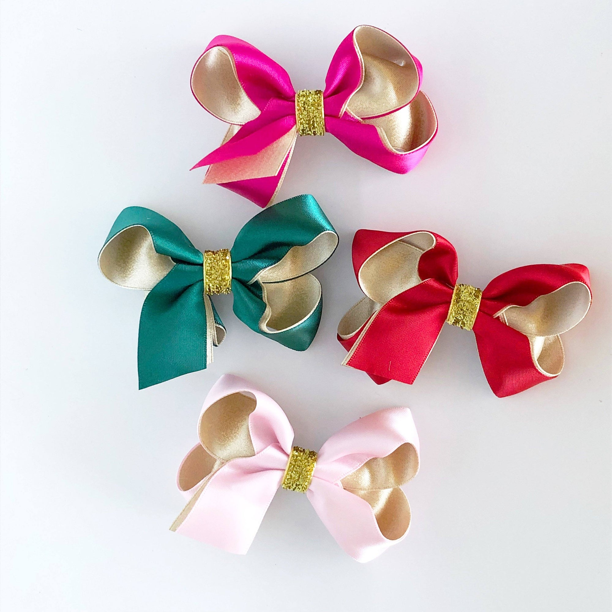 Festive Satin Bow (6 Colours)
