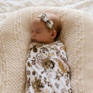 Goldie Blooms Bow Headband