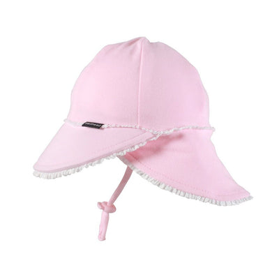 Legionnaire Ruffle Trim Hat (Blush)