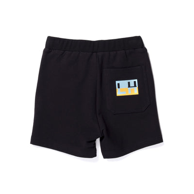 Branded Sweat Short (Black)