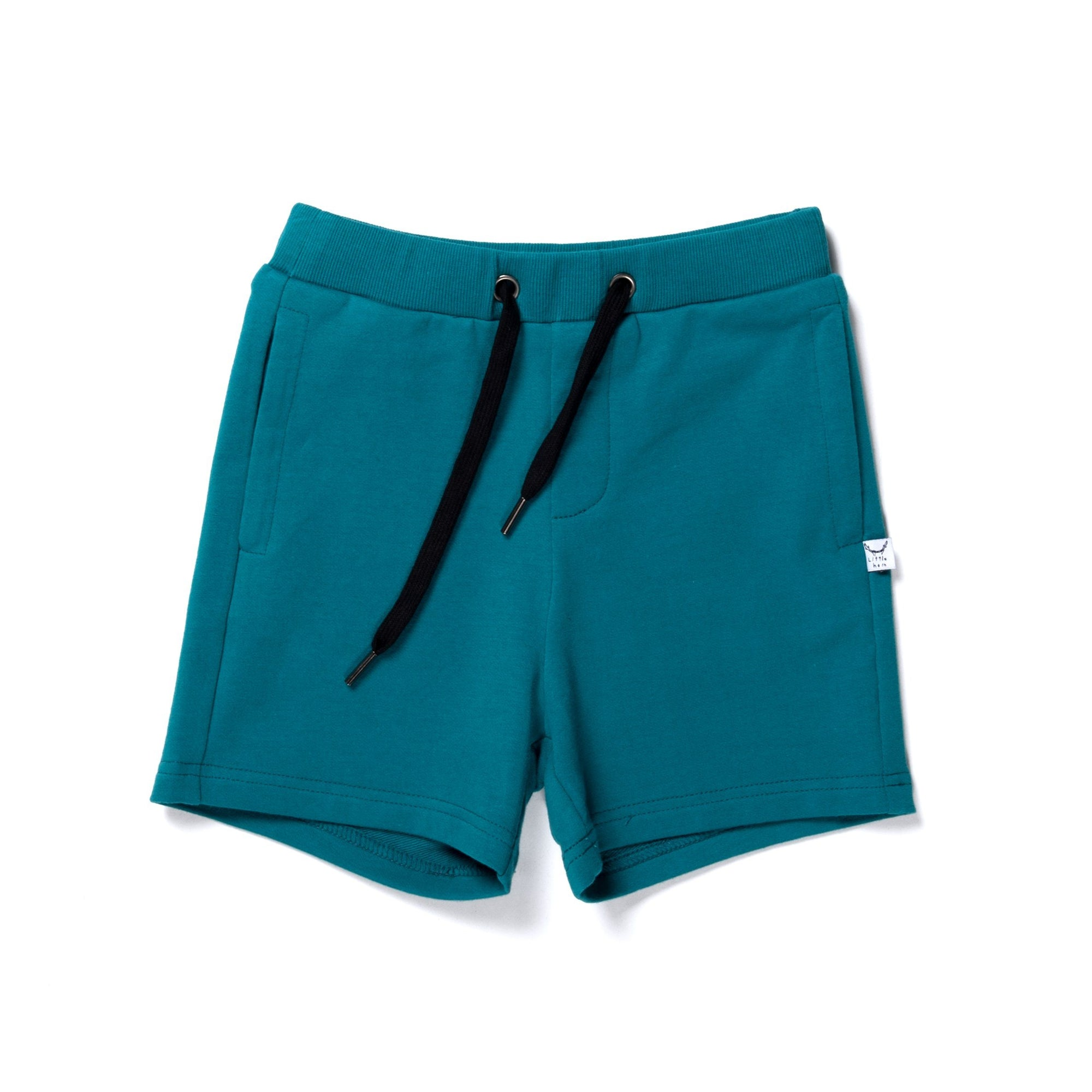 Branded Sweat Short (Teal)