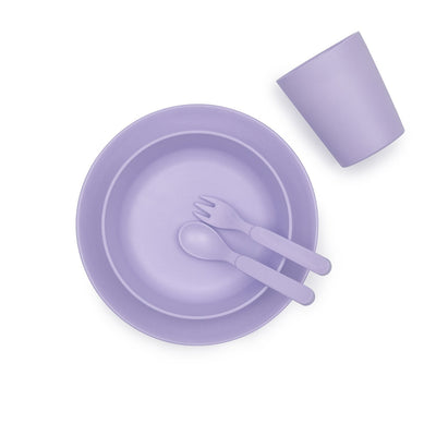 Bamboo Dinner Set (Lilac)