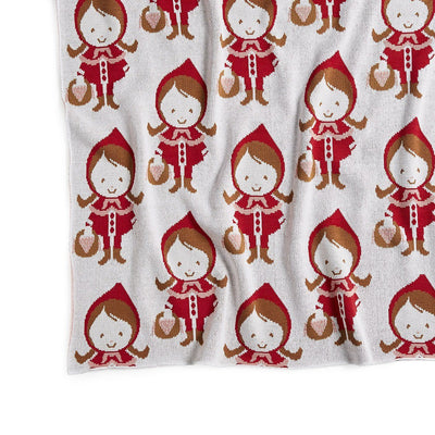 Little Red Riding Hood Cot Blanket
