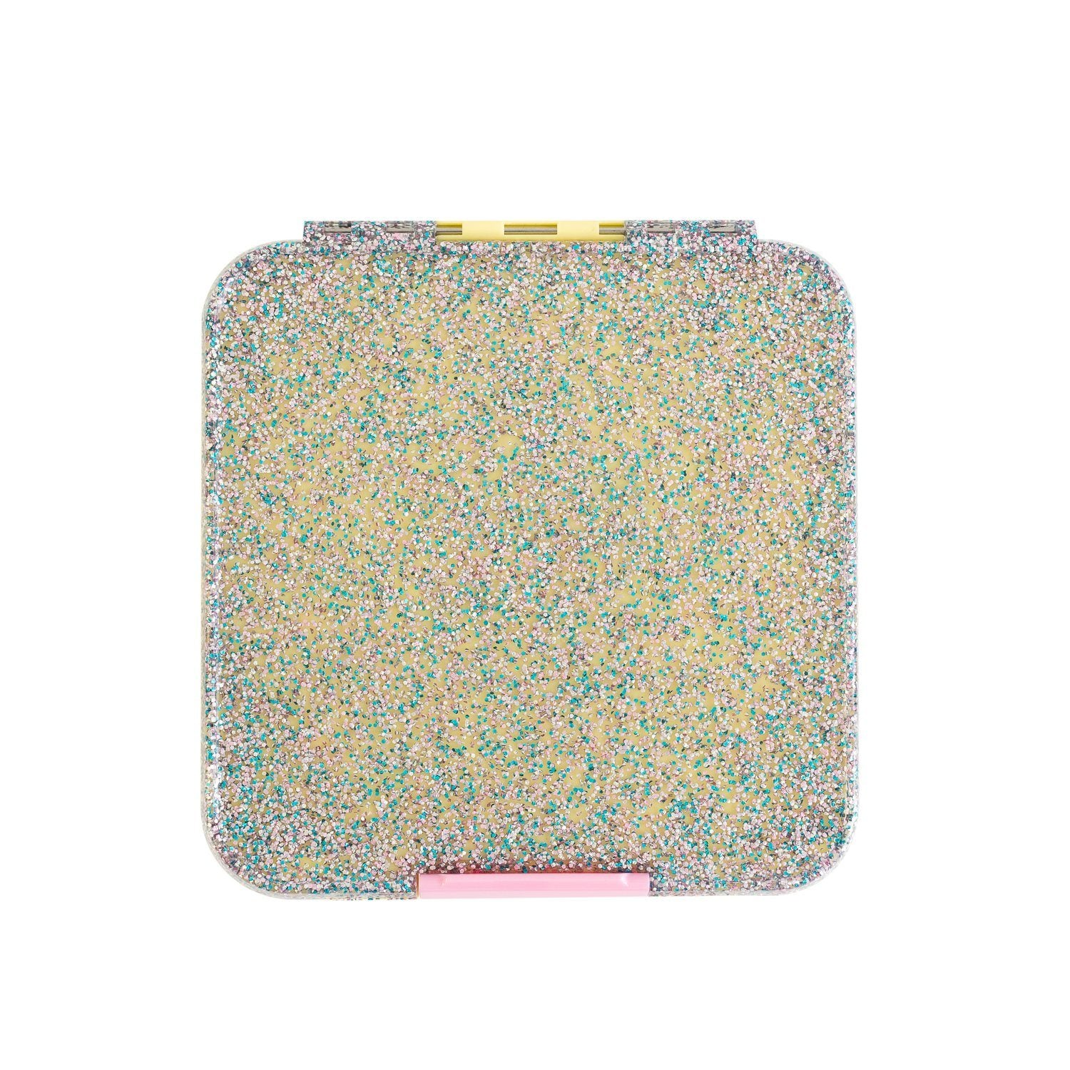 Bento Five Lunch Box (Yellow Glitter)