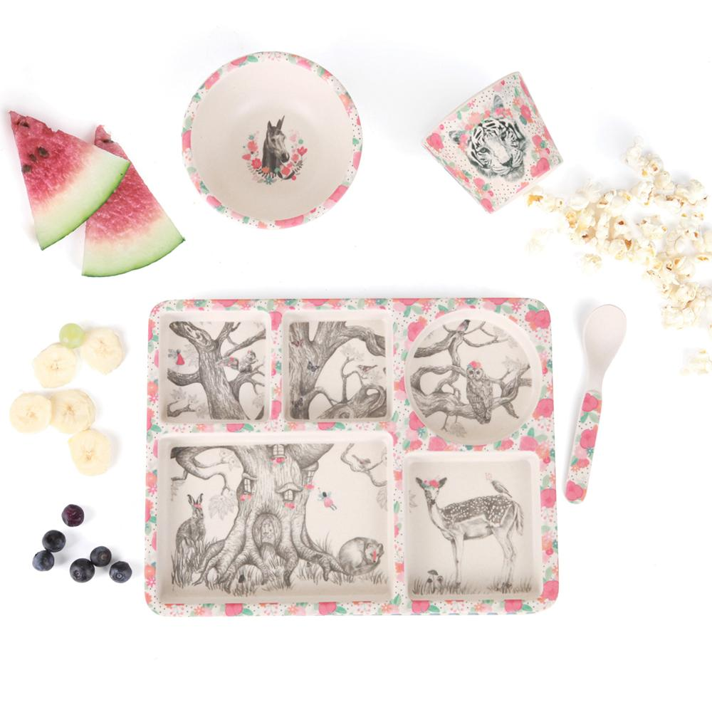 Enchanted Forest 5 Piece Dinner Set