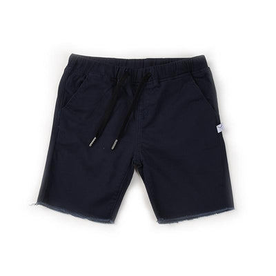 Mason Cut Off Chinos (Navy)