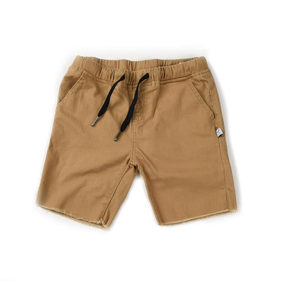 Mason Cut Off Chinos (Tan)