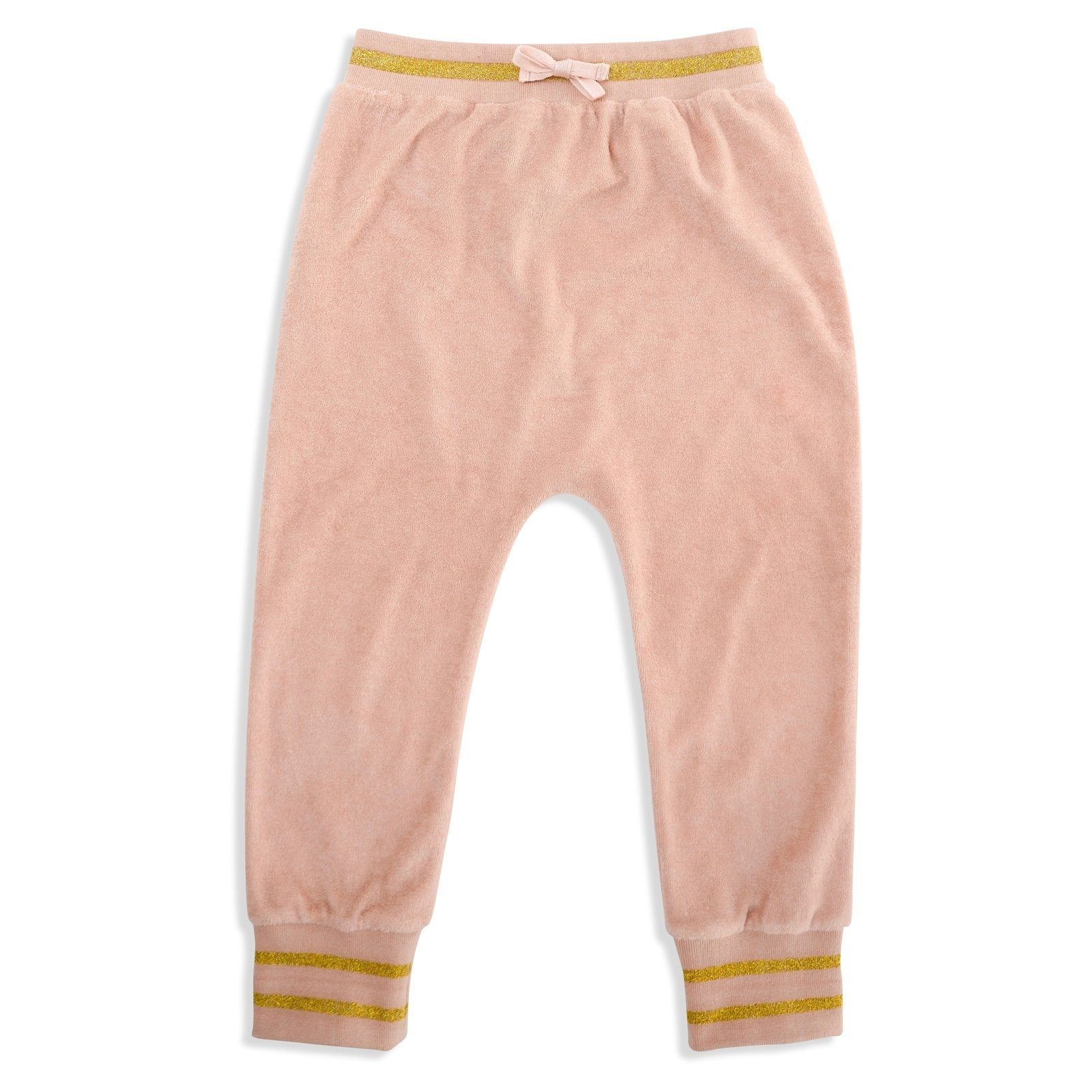 Miami Terry Towelling Pants (Rose Dust/Gold)
