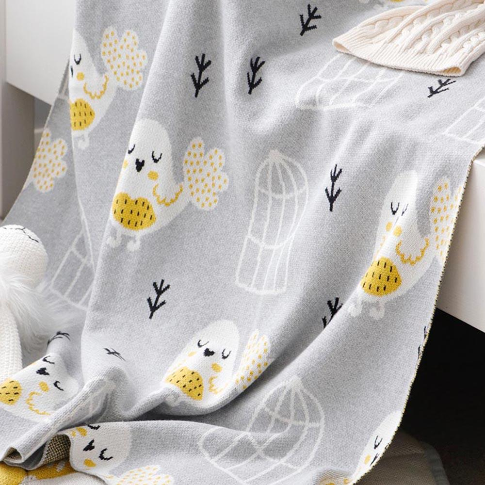 Miss Bird Baby Blanket