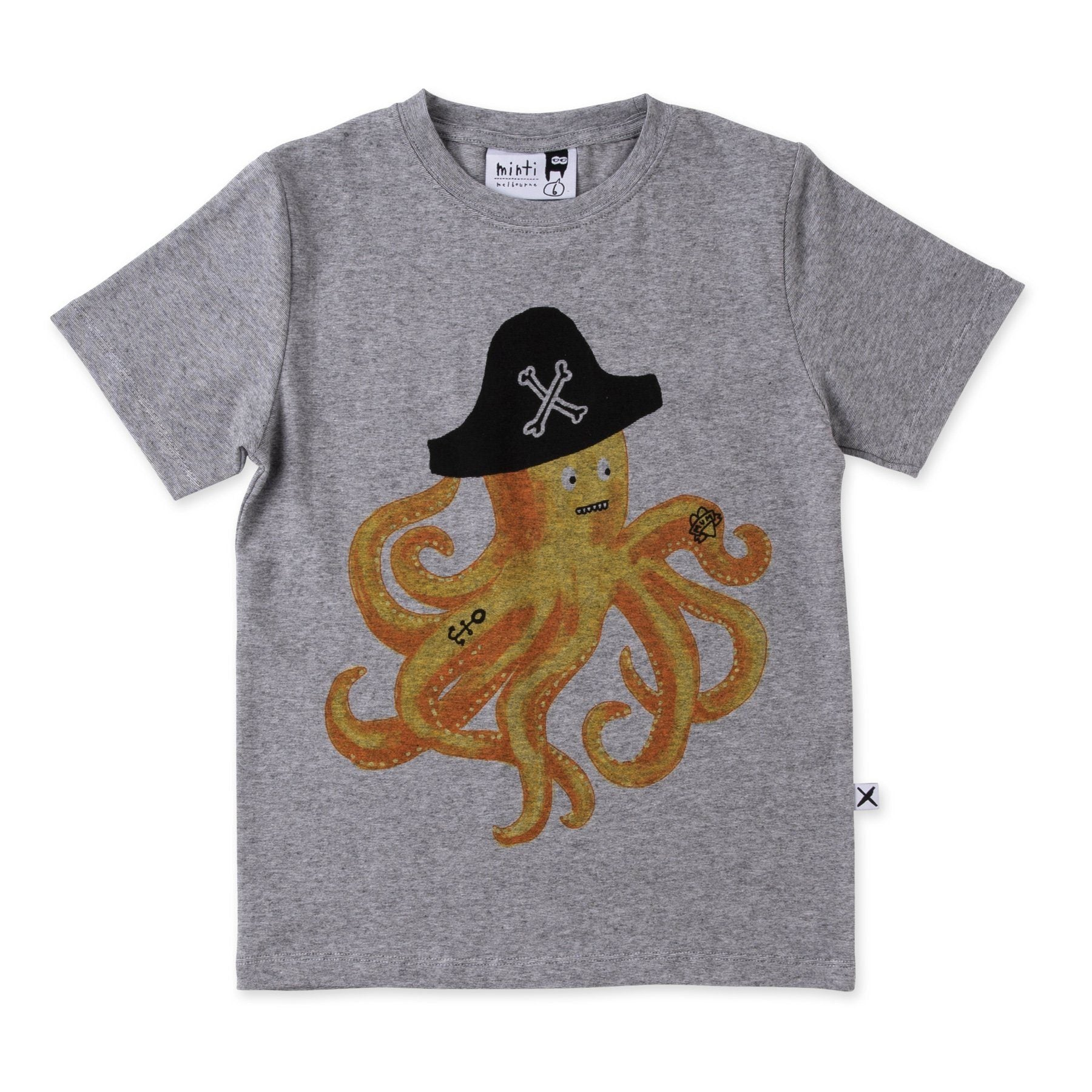 Captain Octopus Tee