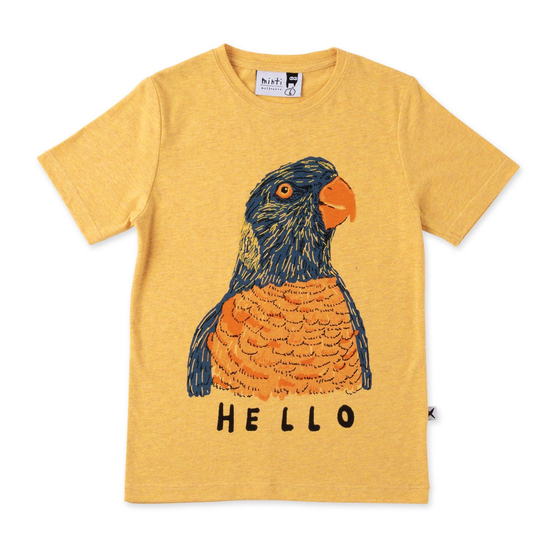 Friendly Parrot Tee