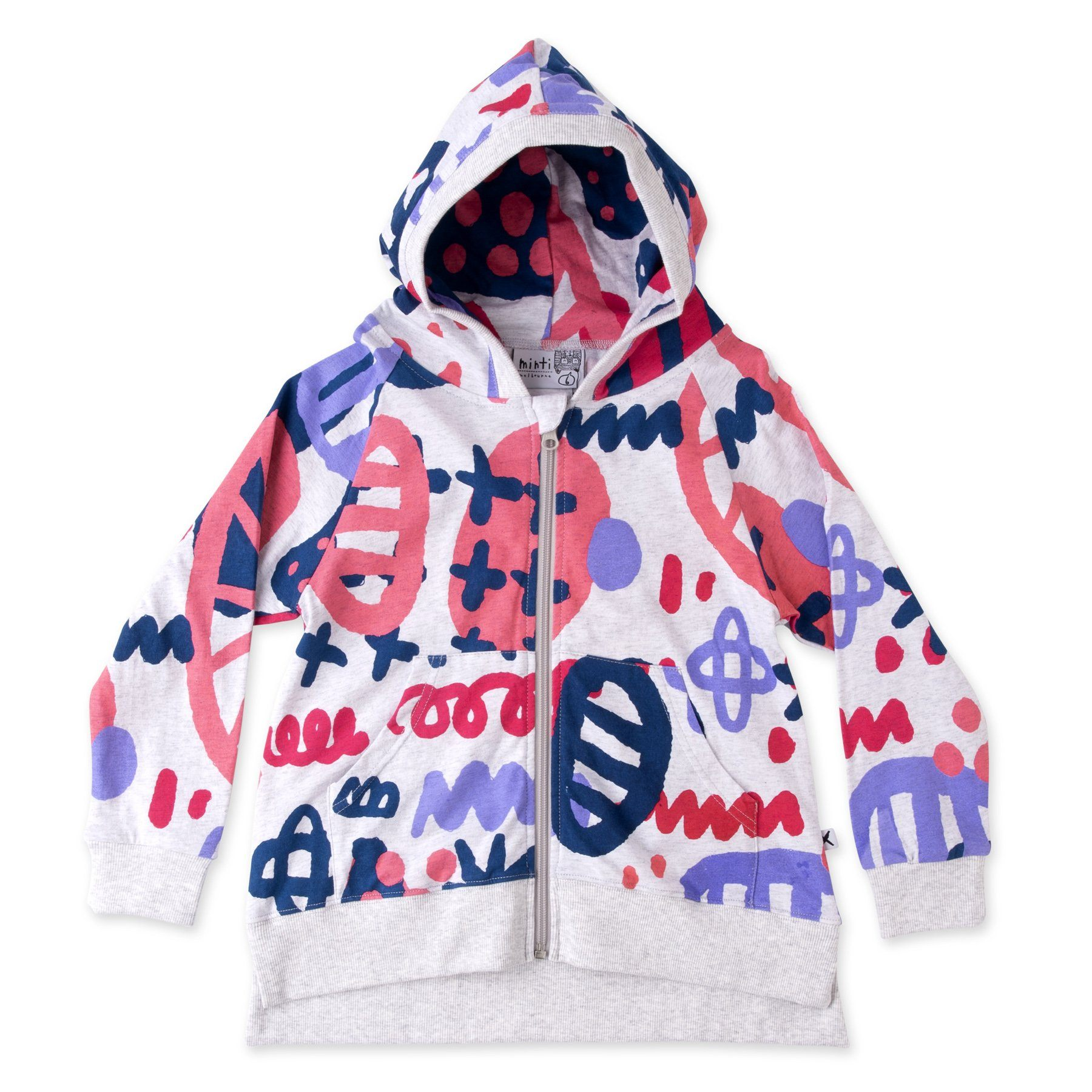 Wonderland Zip Up