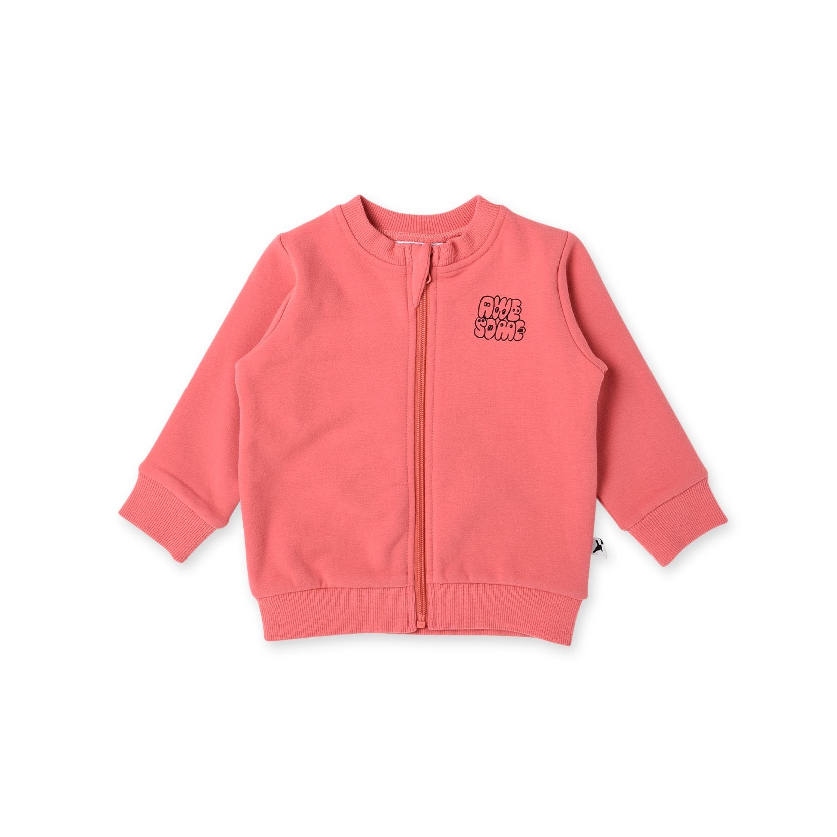 Awesome Furry Zip Up Baby Crew