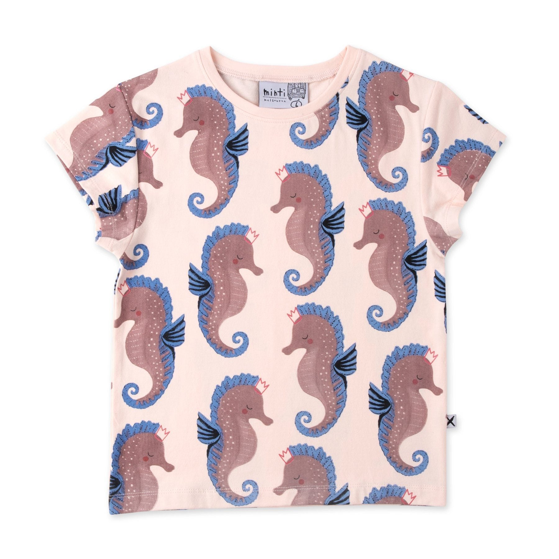 Painted Seahorses Tee