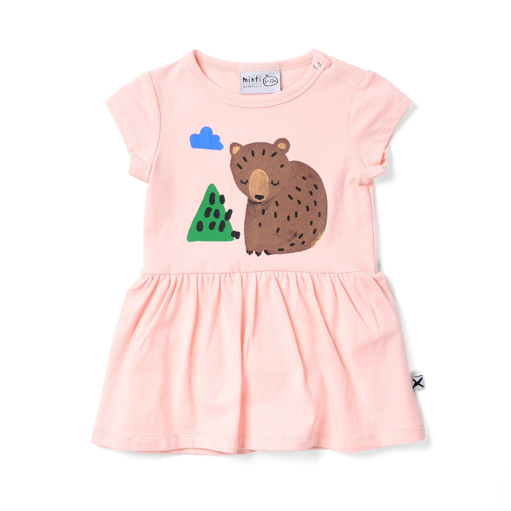 Bear Cub Onesie Dress