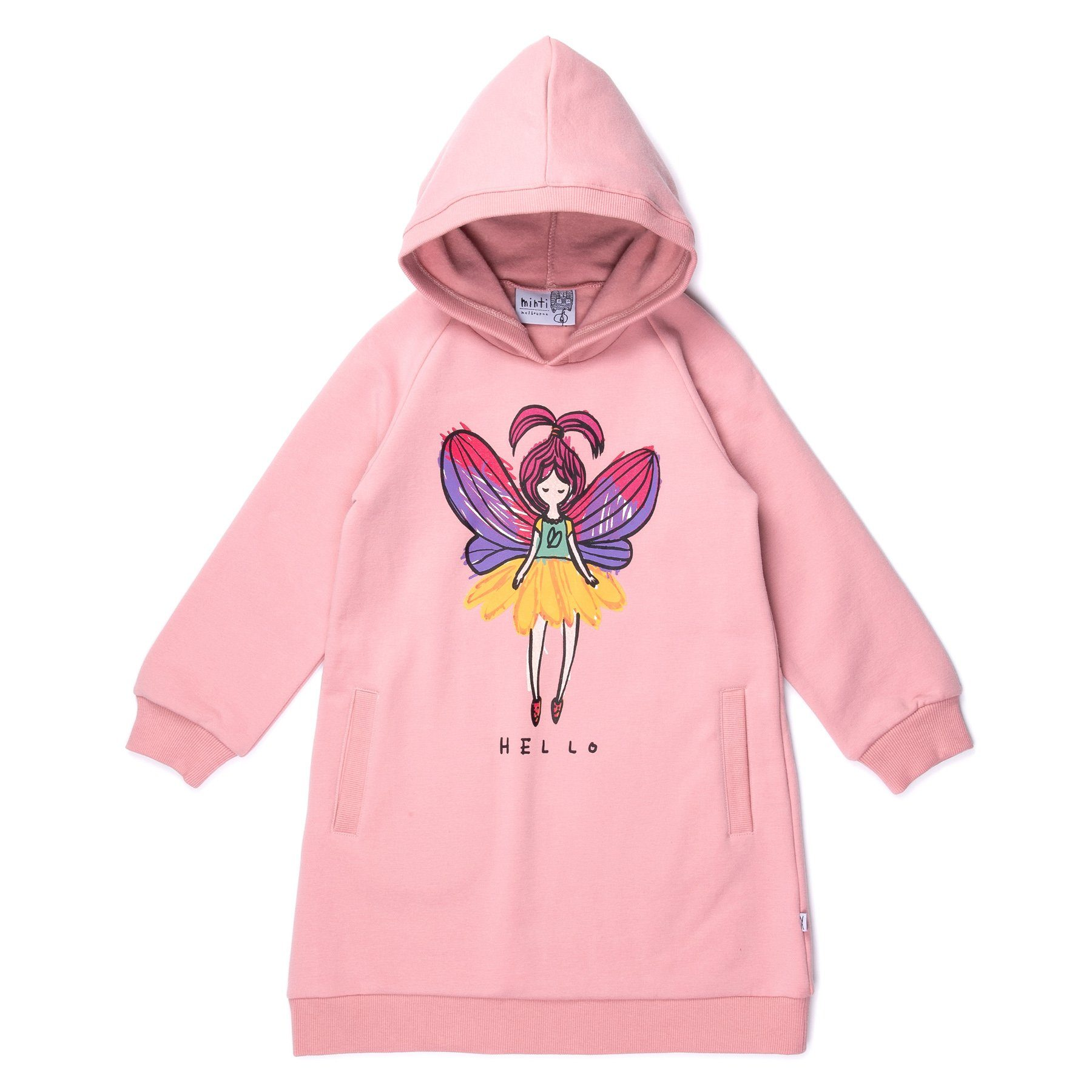 Friendly Fairy Furry Hoodie Dress