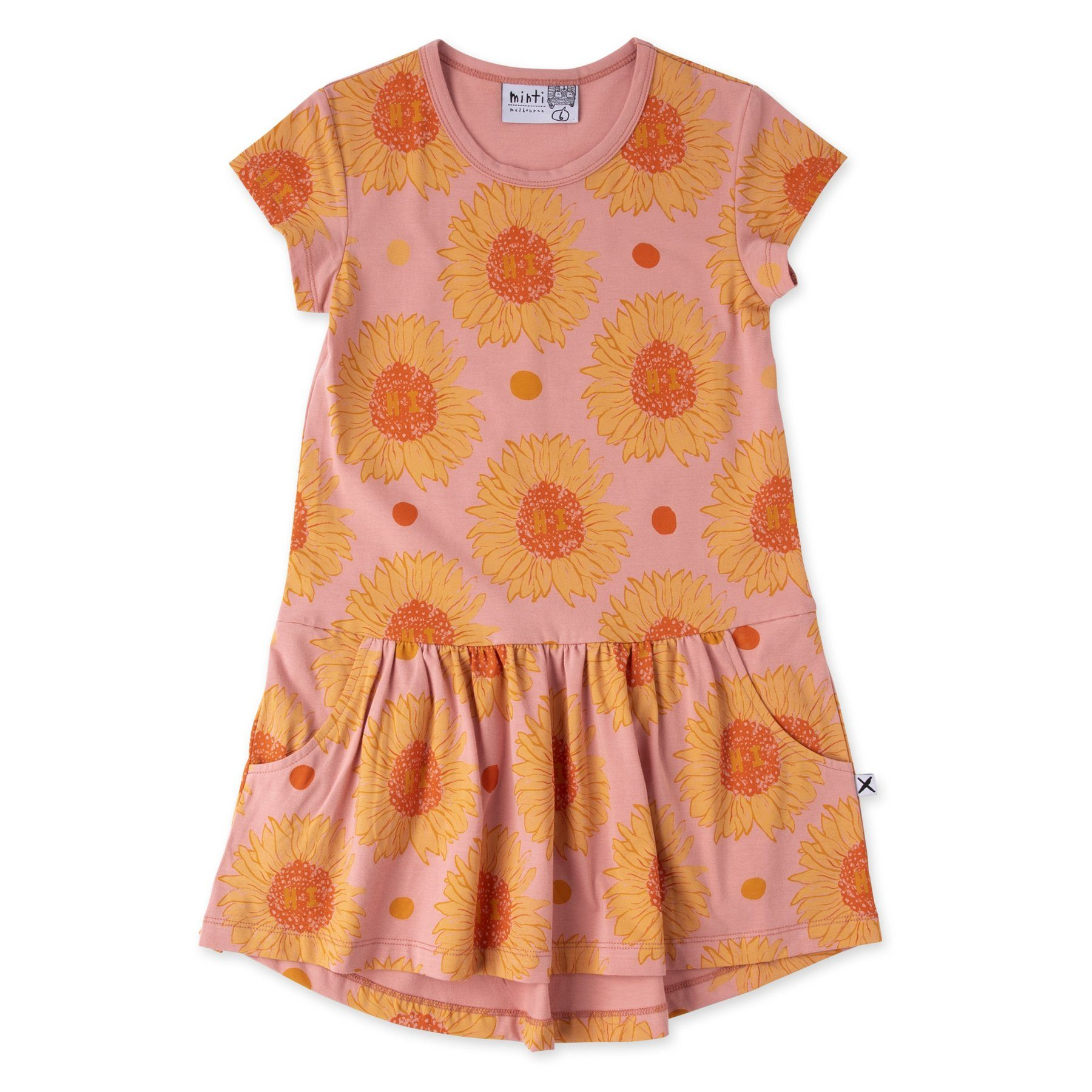 Friendly Sunflowers Dress