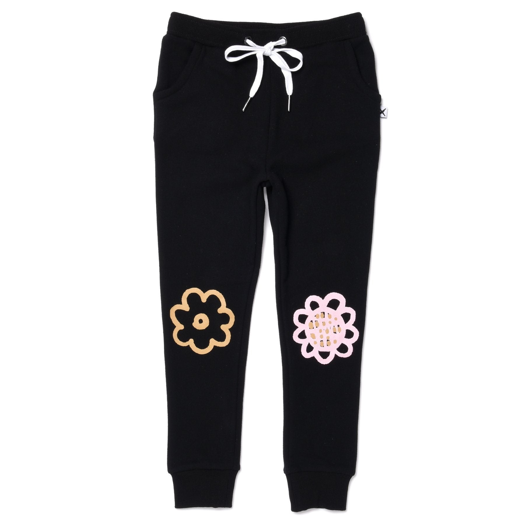 Flower Power Furry Trackies
