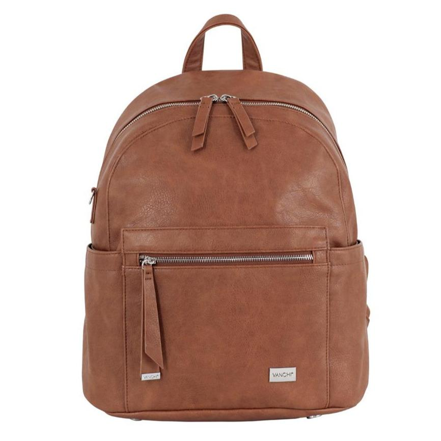 Manhatten Backpack/Nappy Bag (Tan)